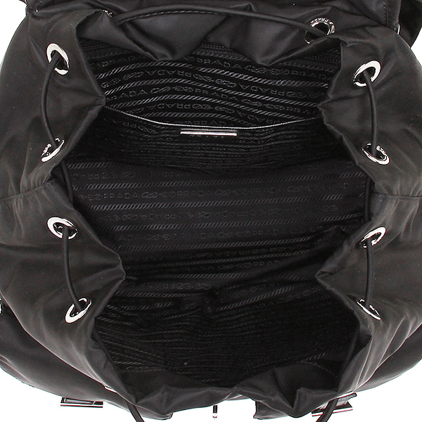 a8658afab77f ... Prada bag lady PRADA 1BZ811 V44 F0002 VELA rucksack backpack NERO ...