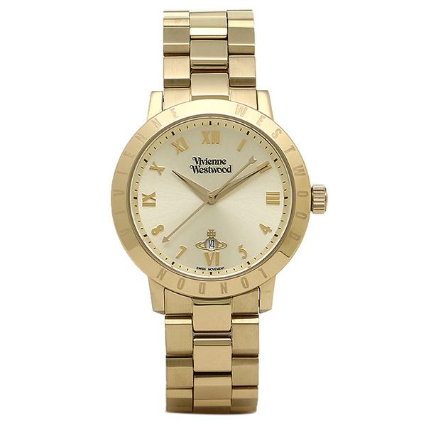 【4時間限定ポイント10倍】ヴィヴィアンウエストウッド 時計 VIVIENNE WESTWOOD VV152GDGD BLOOMSBURY ブルームズベリー レディース腕時計 イエローゴールド