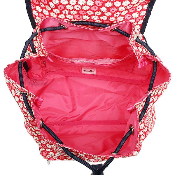 레스포트삭크밧그 LESPORTSAC 레이디스 9808 D842 SMALL EDIE BACKPACK 배낭・백 팩 TRAVEL DAISY RED