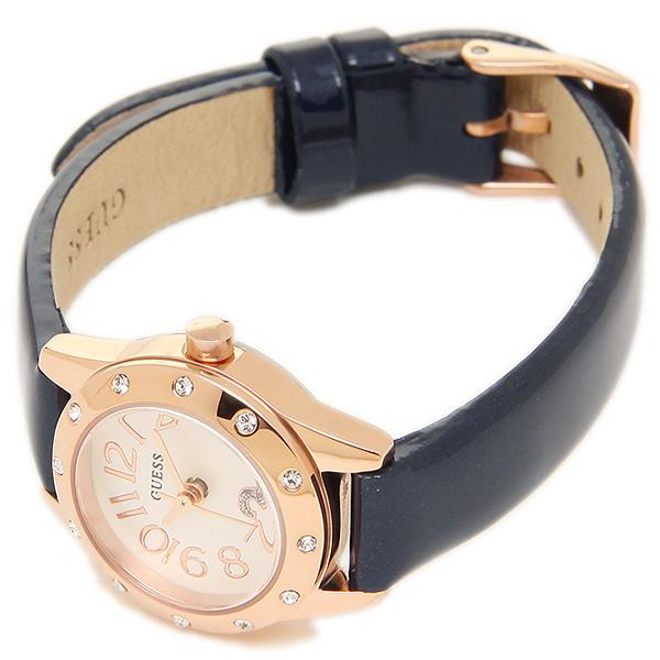 게스 시계 GUESS W0341L3 CUTESY 쿵트레디스 손목시계 워치 블랙/골드/화이트