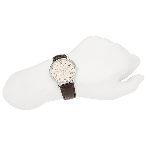 게스 시계 GUESS W70016G2 WAFER wafer 맨즈 손목시계 워치 브라운/실버