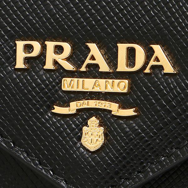 普拉达钱包PRADA 1MF175 UZF F0002 SAFFIANO METAL长钱包NERO