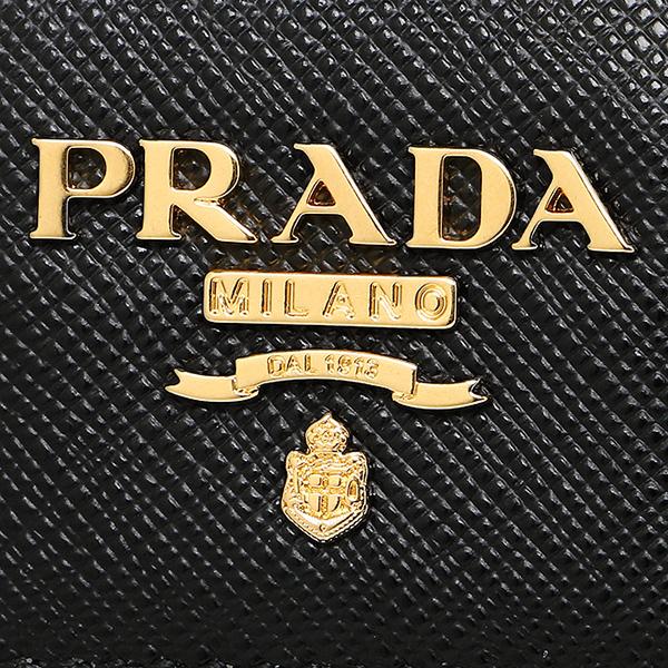 프라다 지갑 PRADA 1 ML005 QWA F0002 SAFFIANO METAL 반접기 지갑 NERO