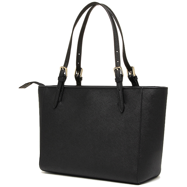 새-바치 가방 TORY BURCH 레이디스 31159781 15001 YORK SMALL TOP-ZIP BUCKLE TOTE 토트 백 BLACK
