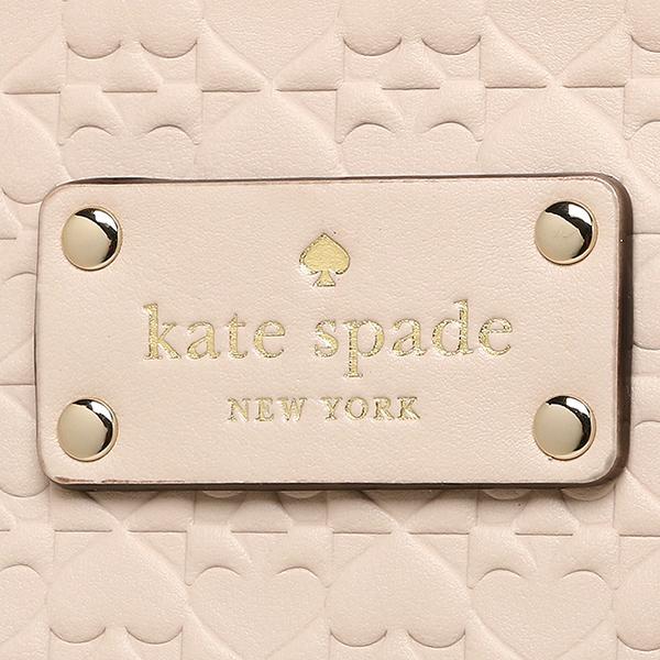 凯特黑桃大手提包奥特莱斯KATE SPADE WKRU3826 069女子的浅驼色