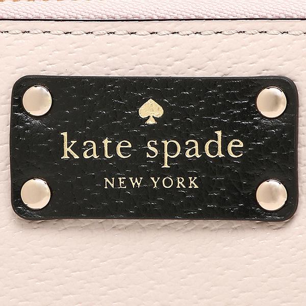 케이트 스페이드장 지갑 아울렛 KATE SPADE WLRU2547 293 레이디스 베이지 블랙