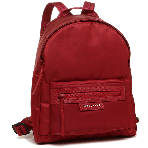 Longchamp bag LONGCHAMP Lady s 1118 578 379 プリアージュネオ LE PLIAGE NEO BACKPACK  rucksack backpack RUBY 16f57dd47612b