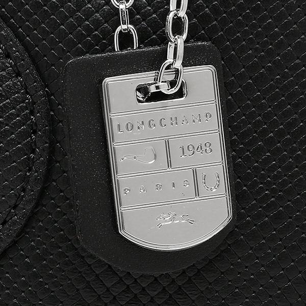 론샨 가방 LONGCHAMP 레이디스 1202 786 001 QUADRI TOP HANDLE BAG 2 WAY 가방 NOIR