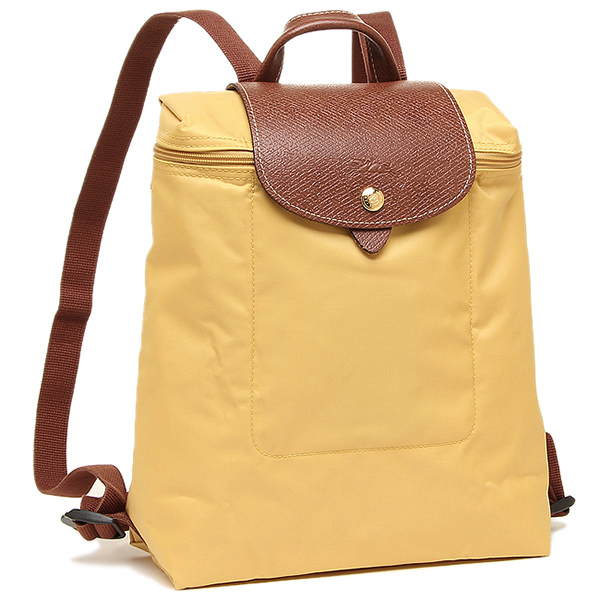 82f0d8ec91 Longchamp bag LONGCHAMP Lady's 1699 089 C91 プリアージュ LE PLIAGE BACKPACK  rucksack backpack CURRY ...