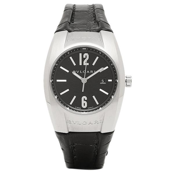 ブルガリ 時計 レディース BVLGARI EG30BSLD エルゴン クォーツ腕時計ウォッチ ブラック/シルバー