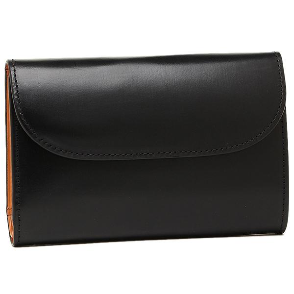 【2時間限定ポイント10倍】ハックニー 財布 Hackney HK-004 メンズ 三つ折り財布 BLACK