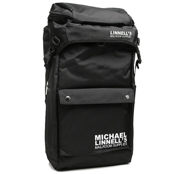 マイケルリンネル バッグ MICHAEL LINNELL ML-013 CANNON PACK 約34L メンズ リュック・バックパック BLACK