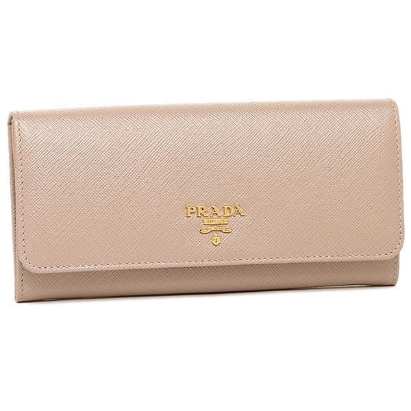 429d05d7420d Prada wallet Lady's PRADA 1MH132 QWA F0770 SAFFIANO METAL long wallet  CAMMEO ...