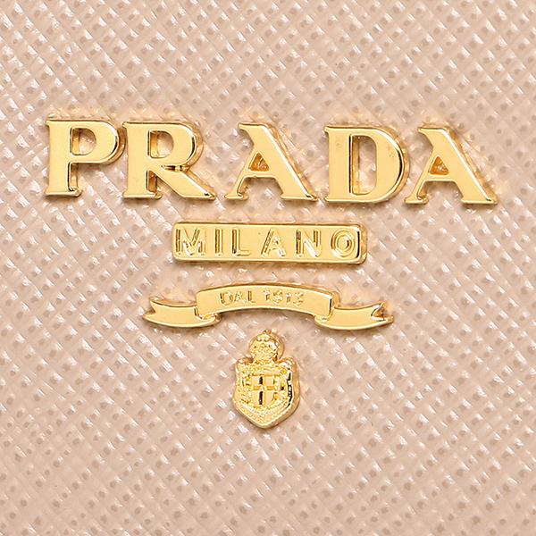 736faeb4cdc ... Prada wallet Lady's PRADA 1MH132 QWA F0770 SAFFIANO METAL long wallet  CAMMEO
