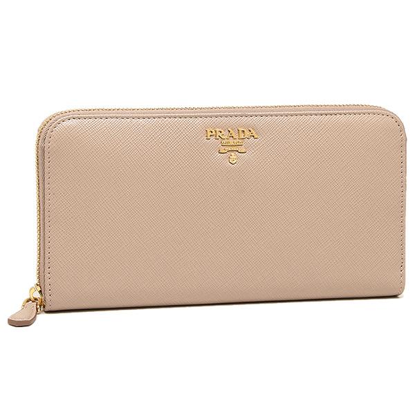 6e16e832992f Prada wallet Lady's PRADA 1ML506 QWA F0770 SAFFIANO METAL long wallet  CAMMEO ...