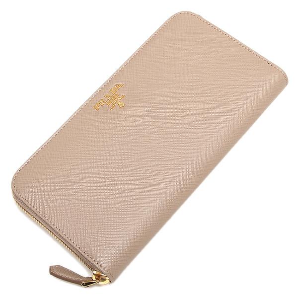 d00a540a402 ... Prada wallet Lady's PRADA 1ML506 QWA F0770 SAFFIANO METAL long wallet  CAMMEO ...