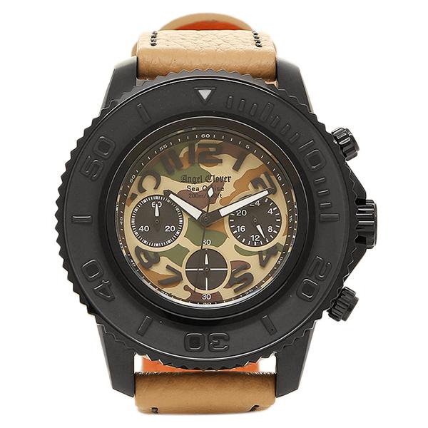 エンジェルクローバー 腕時計 ANGEL CLOVER SC47BCM-KH シークルーズ クォーツ メンズ腕時計 ウォッチ ベージュ/ブラック/カモフラージュ