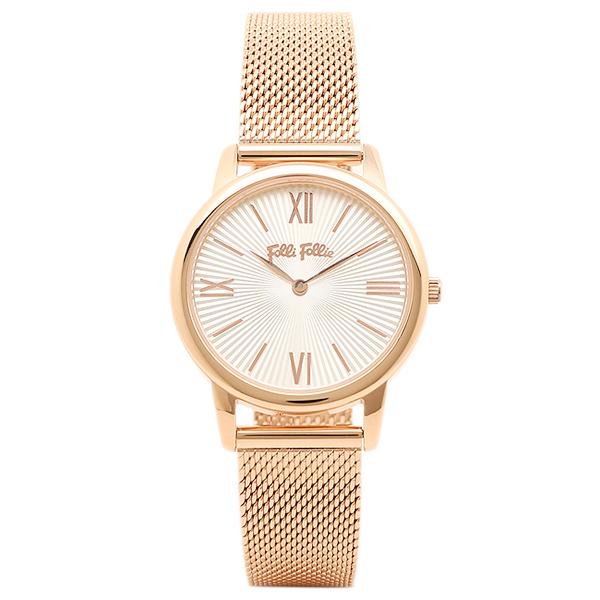 フォリフォリ 腕時計 FOLLI FOLLIE WF15R032BPWXX マッチポイント MATCH POINT レディース腕時計ウォッチ シルバー/ピンクゴールド