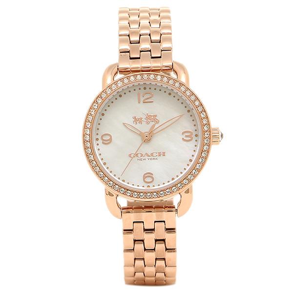 コーチ 腕時計 レディース COACH 14502479 ピンクゴールド シルバー
