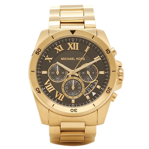 マイケルコース 腕時計 メンズ MICHAEL KORS MK8481 BRECKEN ブレッケン メンズ腕時計 ウォッチ ブラック/ゴールド