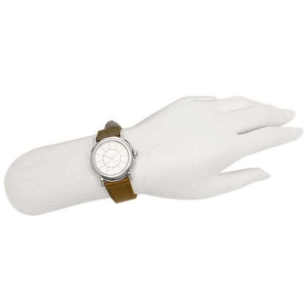 标记雅各布钟表MARC JACOBS MJ1448 COURTNEY考特尼女士手表白/银子/棕色