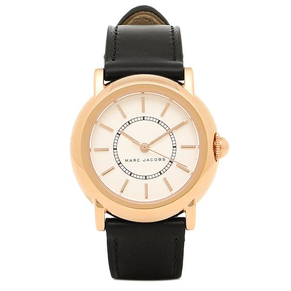 マークジェイコブス 時計 MARC JACOBS MJ1450 COURTNEYコートニー レディース腕時計ホワイト/ピンクゴールド/ブラック