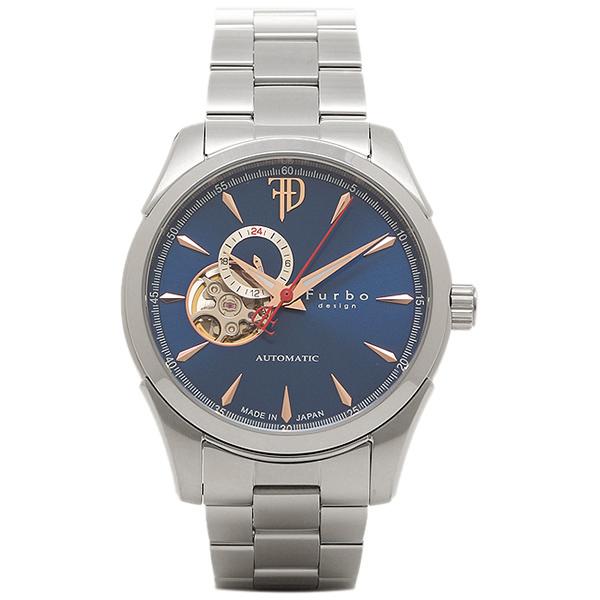 フルボデザイン 時計 Furbo design F5029BLSS 自動巻き メンズ腕時計 ウォッチ ブルー/シルバー