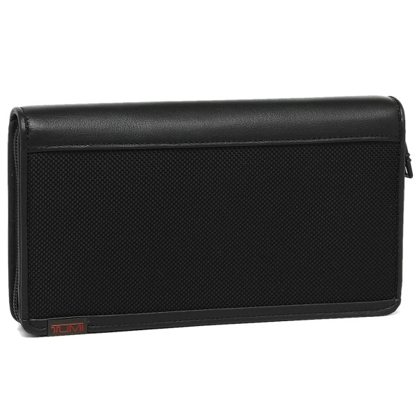 【2時間限定ポイント10倍】トゥミ 財布 TUMI 19277 D アルファ ALPHA メンズ 長財布 BLACK