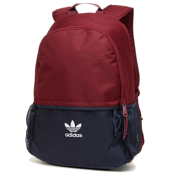 아디다스밧그 ADIDAS AY7738 ADIDAS ORIGINALS ESSENTIALS BACKPACK 배낭・백 팩 BURGUNDY/NAVY