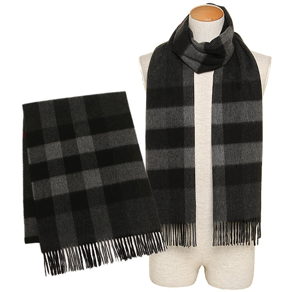 black burberry scarf