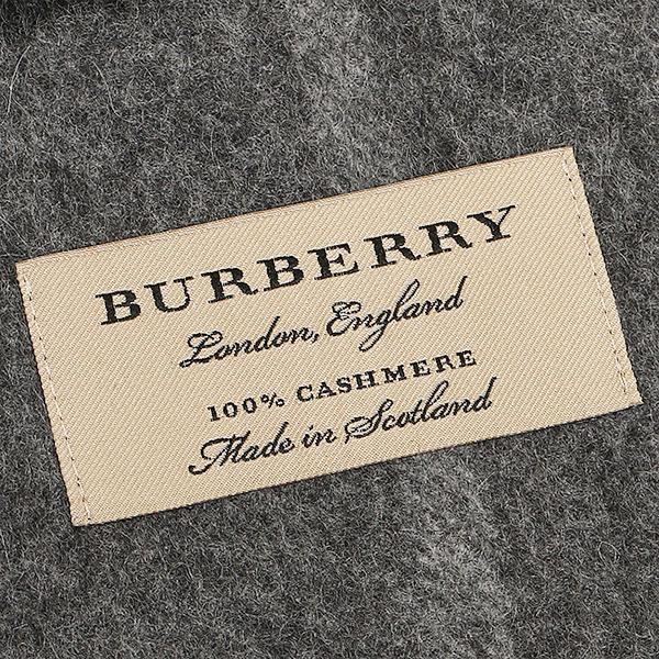바바리 머플러 BURBERRY 3994207 C0320B GIANT CHECK CASHMERE SCARF 캐시미어100% 30×168 cm MID GREY