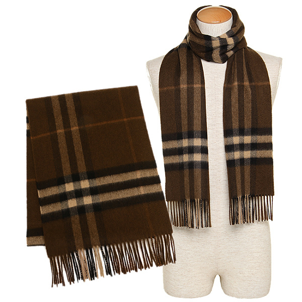 brown burberry scarf