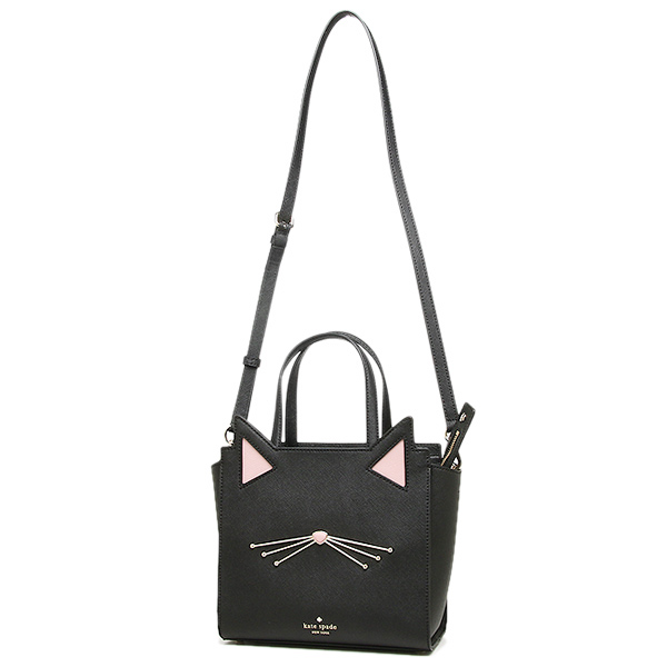 케이트스페이드밧그레디스 KATE SPADE PXRU7047 001 JAZZ THINGS UP CAT SMALL HAYDEN 숄더백 2 WAY 가방 BLACK