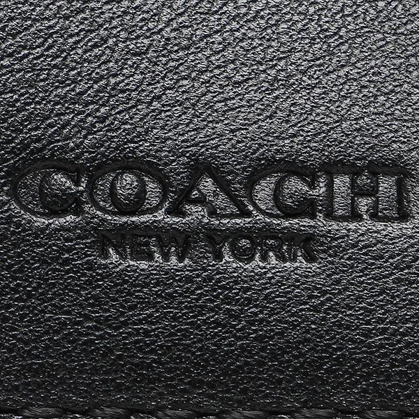 教练对开钱包奥特莱斯COACH F75363 BLK黑色
