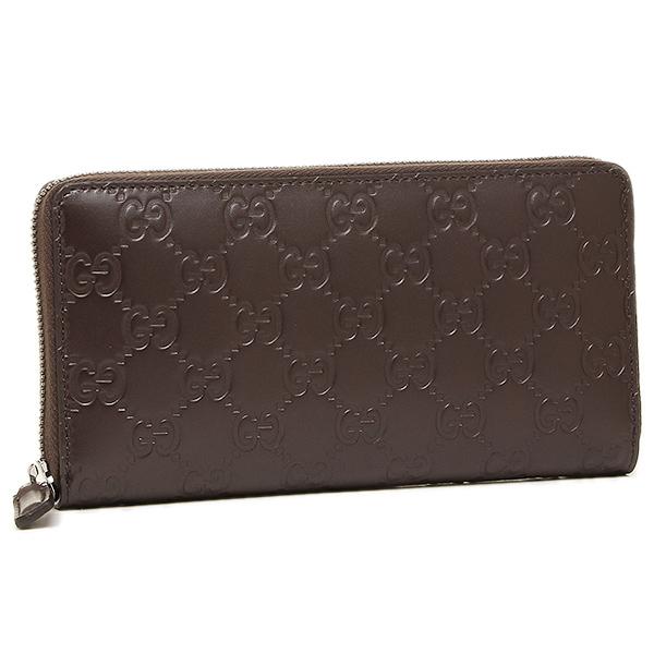 d11b0ff08210 Gucci wallet mens GUCCI 307987 CWC1R2140 AVEL Director GUCCISSIMA wallet  COCOA ...