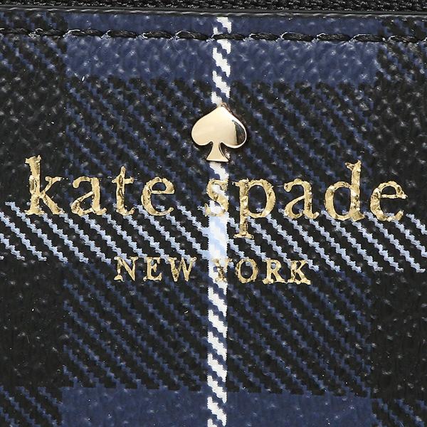 凯特黑桃长钱包KATE SPADE PWRU5133 408女子的深蓝多重