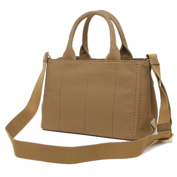 e3700fbf292 Prada Bags PRADA 1BG439 ZKI F0005 canape CANAPA shoulder bag 2-WAY bag  TABACCO