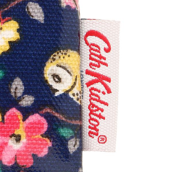 카스 키드 손 파우치 CATH KIDSTON 레이디스 595803 ZIP PURSE MINI OWLS AND FLOWERS 파우치 NAVY