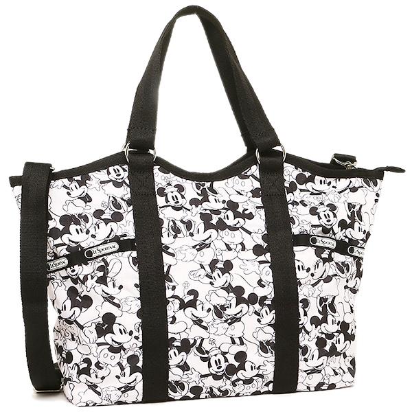 Lesportsac Bag 9811 P928 Small Carryall 2 Way Mickey Loves Minnie