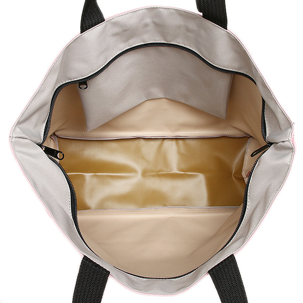 에르베샤프리에밧그 Herve Chapelier 레이디스 1024 N 51 05 NYLON SQUARE L SHOLDER BAG 토트 백 TARAMA/NACRE