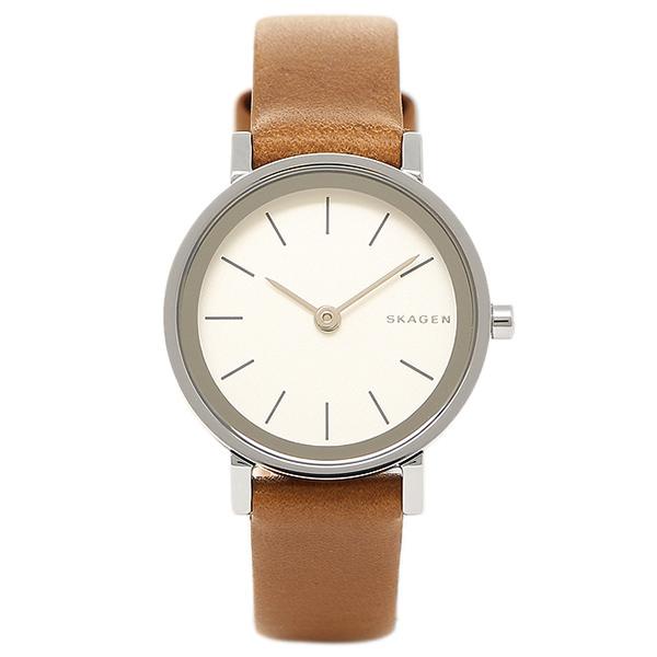 スカーゲン 腕時計 SKAGEN SKW2440 HALD ハルド レディース腕時計ウォッチ シルバー/ブラウン