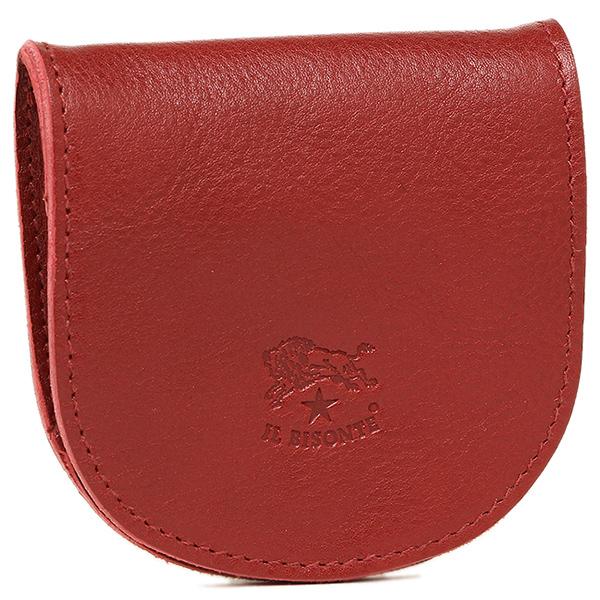 イルビゾンテ 財布 レディース IL BISONTE C0934 P 245 小銭入れ/コインケース RUBY RED