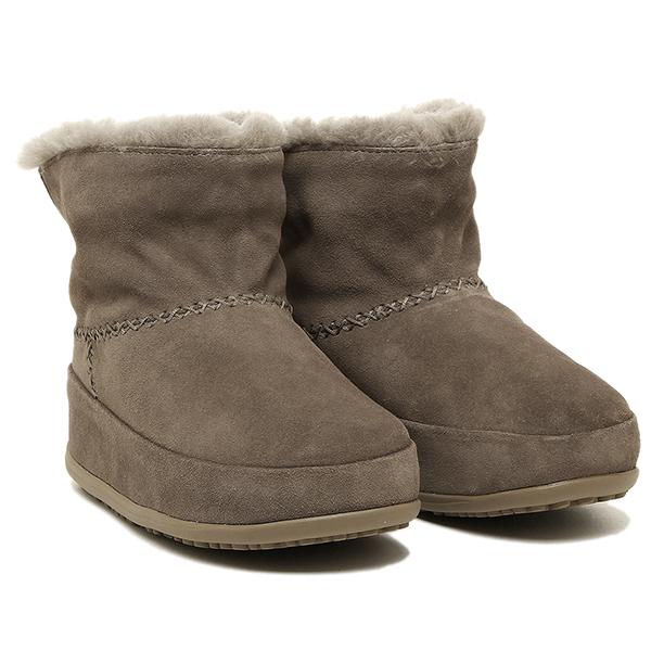 【2時間限定ポイント10倍】フィットフロップ ブーツ fitflop 630 326 MUKLUK SHORTY ブーツ TIMBERWOLF