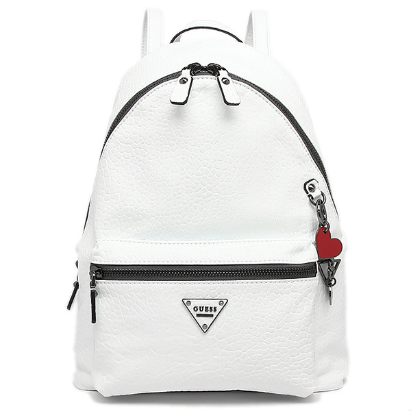 gesubaggu GUESS PM663332 COOL SCHOOL LEEZA BACKPACK帆布背包·背包WHITE