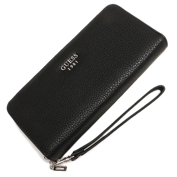게스 지갑 GUESS VG621646 CATE SLG LARGE ZIP AROUND장 지갑 BLACK