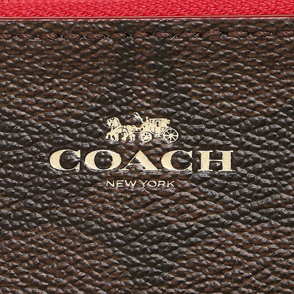 코치 코인 케이스 아울렛 COACH F63923 IML72 브라운 트루 레드