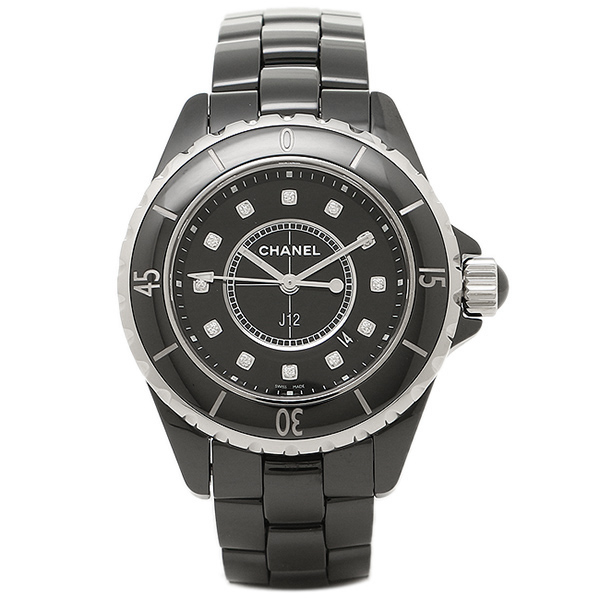 Chanel Chanel Watches Watch Chanel Watch Chanel J12 H1625 33mm 12 Diamond Black Ceramic Ladies Serial With