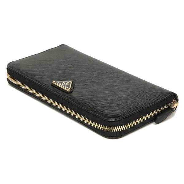 프라다 지갑 PRADA 1 ML506 QHH F0002 SAFFIANO TRIANGOLO PORTAFOGLIO장 지갑 NERO