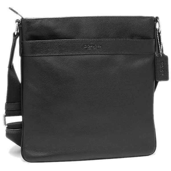 3974f0780265 COACH NOMAD HOBO IN GLOVETANNED LEATHER Coach bags outlet COACH F54780 BLK  Charles Crossbody mens shoulder bag black ...