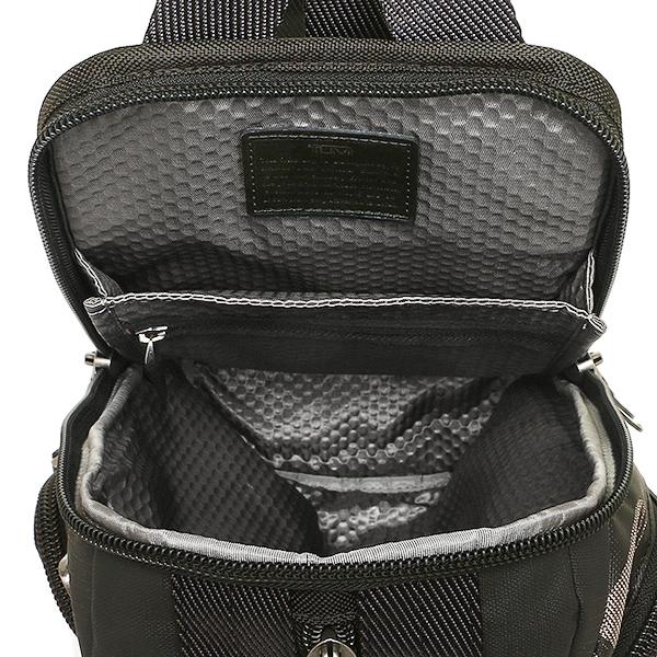 트미밧그 TUMI 222393 SCP2 ALPHA BRAVO SARATOGA SLING 맨즈 보디 가방・waist pouch SMOKE CHARACTER